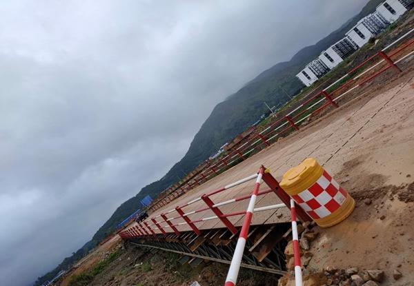 马站核电站-钢便桥
